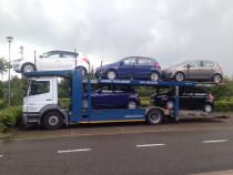 Sofer CE pe transportor autoturisme in Belgia