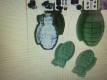 Forma de silicon in forma de grenada pentru gheata