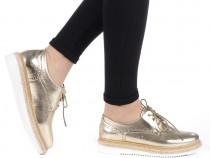 Pantofi Dama casual cu siret, gen Oxford