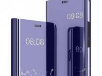 Husa Telefon Flip Book Clear View Huawei P30 Violet NOU