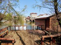 Snagov vila cu ponton pe lac