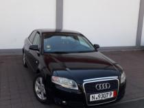 Audi A4 b7 piele rosie