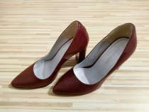 Pantofi piele eleganti de dama