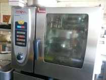 Rational Self Cooking Center 6 tavi gaz 2010 in stoc