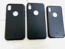 Iphone X XS 10 XR XS MAX Husa Ultra Slim Baseus Neagra, Blac