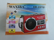 Radio mp3 portabil Waxiba XB-221