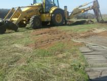 Prestari servicii buldoexcavator
