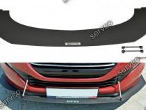 Prelungire splitter bara fata Peugeot RCZ FL 2012-2015 v3