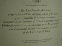 Encyclopaedia (encyclopedia) britannica, completa, editia