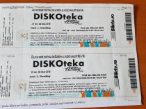 2 Abonamente la DISKOteka festival Timisoara