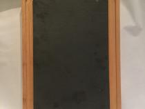 Platou din lemn de fag cu placa de ardezie