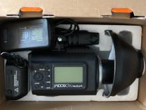 Godox AD600M + wireless trigger XT32C for Canon