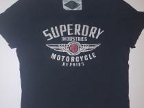 Tricou Motorcycle SuperDry De Barbati Marimea XL 100%Bumbac