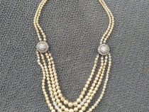 Colier vintage perle