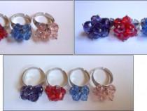 4 inele colorate