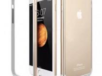 Bumper aluminiu + cauciuc iPhone 6 6s 7 8 noi