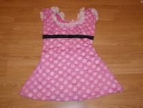Costum carnaval serbare rochie minnie 8-9-10 ani