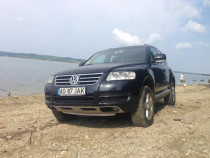 VW Touareg, 2.5 TDI, bac, suspensie arcuri, fara schimb