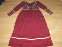 Costum carnaval serbare cadana rochie medievala adulti L