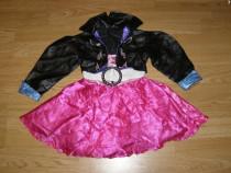 Costum carnaval serbare rochie dans rock&roll 3-4 ani