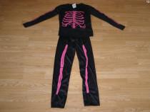 Costum carnaval serbare schelet 8-9-10 ani