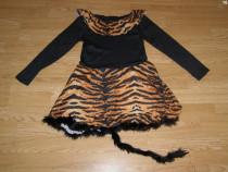 Costum carnaval serbare animal tigru 7-8 ani