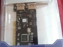 Placa PCI Sata 2 pci card