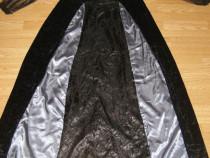Costum carnaval serbare rochie medievala contesa adulti L