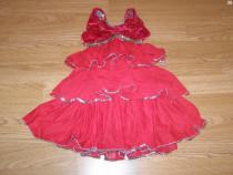 Costum carnaval serbare rochie dans flamenco gala 3-4 ani