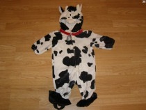 Costum carnaval serbare animal vaca vacuta 9-12 luni 1 ani