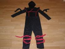 Costum carnaval serbare ninja 8-9 ani