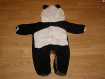 Costum carnaval serbare animal urs panda 6-9 luni