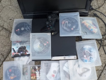 Playstation 3+20jocuri+Tv lcd+joystik si cabluri