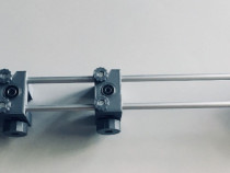 Sablon mobila plastic gri tip sina culisabila 5mm si 8mm