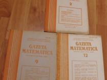 Gazeta matematica - 3 numere din anul 1985