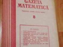 Gazeta matematica - Nr. 8 din 1989