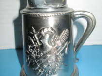 5130-Cavaler Medieval Bricheta birou vintage.