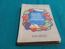 Sfaturi pentru cultura legumelor/ m.nistor/ 1961