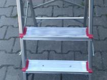 Scara Aluminiu, cu 3 trepte, in stare foarte buna, ca noua