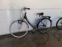 Bicicleta Pegasus de aluminiu cu roti de 28