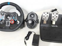 Volan Logitech Driving Force G29, PC, PS4, PS3 + Schimbator