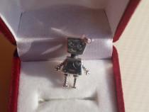 Talisman/charm argint Robotul Bella
