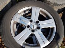 Set jante aluminiu 16 cu anvelope Mercedes