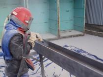 Sablare industriala constructie metalica