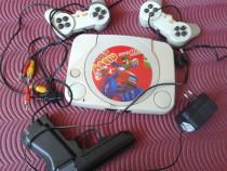 Video game Super Mario + 3 casete cu jocuri
