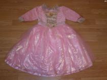Costum carnaval serbare printesa barbie 4-5-6 ani