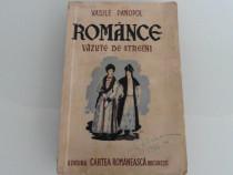 Carte veche romance vazute de straini vasile panopol
