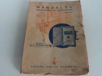 Carte veche manualul instalatorului electrician blatzheim