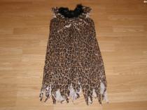 Costum carnaval serbare animal leopard pantera 8-9-10 ani