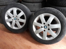 Jante BMW Autec 5x120 si anvelope Michelin Alpin a4
